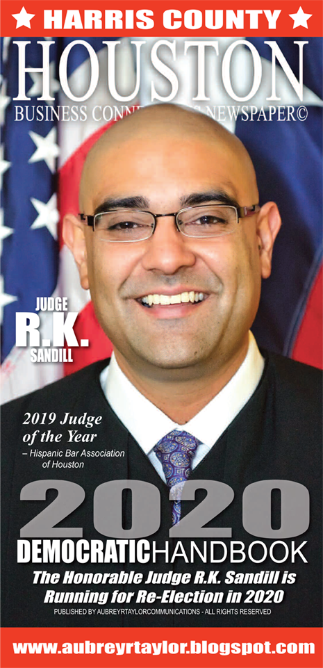 Judge R.K. Sandill is running for re-election in the 2020 Presidential Election