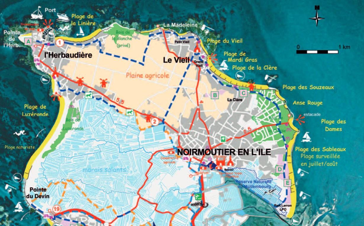 Balades vend ennes noirmoutier balade de r ve - Office du tourisme ile de noirmoutier ...