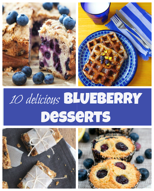 Blueberry Desserts to try out