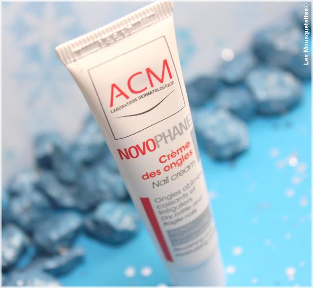 Novophane Crème Ongles - Laboratoire ACM - Les Mousquetettes©
