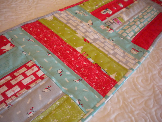 Moda Minute runner from  patterns Gift rolls Last Ideas Cutting jelly the  table Table: