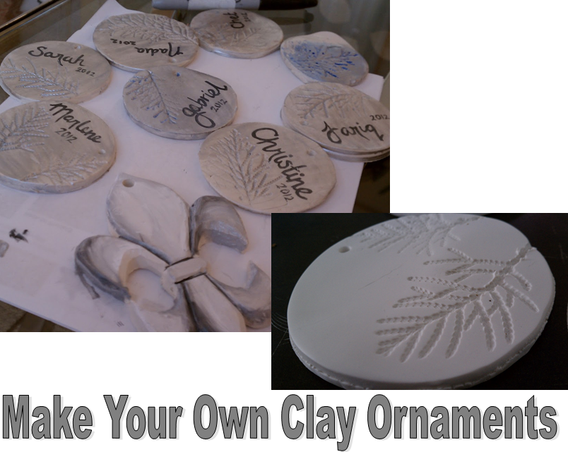 Nadia s diy projects make your own clay ornaments