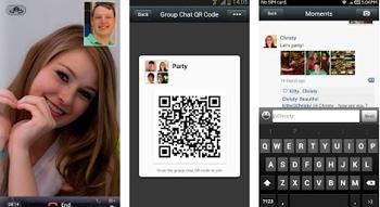 realiza video llamadas gratis con WeChat