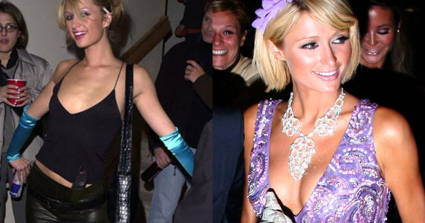 Paris Hilton Boob Job 2008