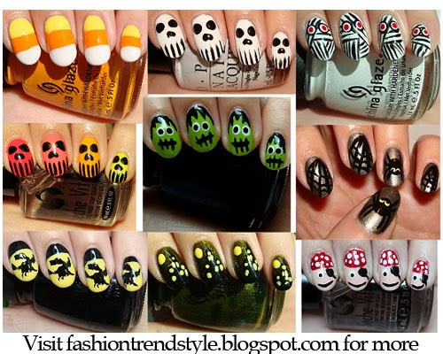 Halloween easy diy nail designs tutorial 4 nail pixiie halloween easy diy nail designs tutorial 4 solutioingenieria Image collections