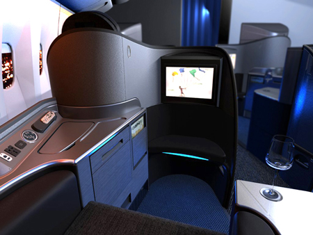 inside united airlinesUnited Airlines First Class 767