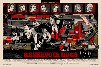 Reservoir Dogs Standard Edition Screen Print by Tyler Stout