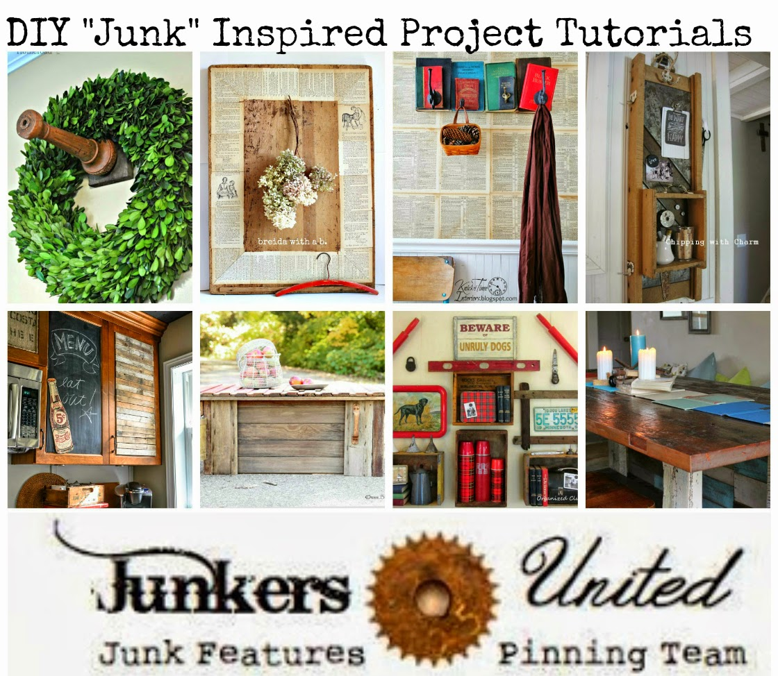 Junk inspired projects tutorials - KnickofTime.net
