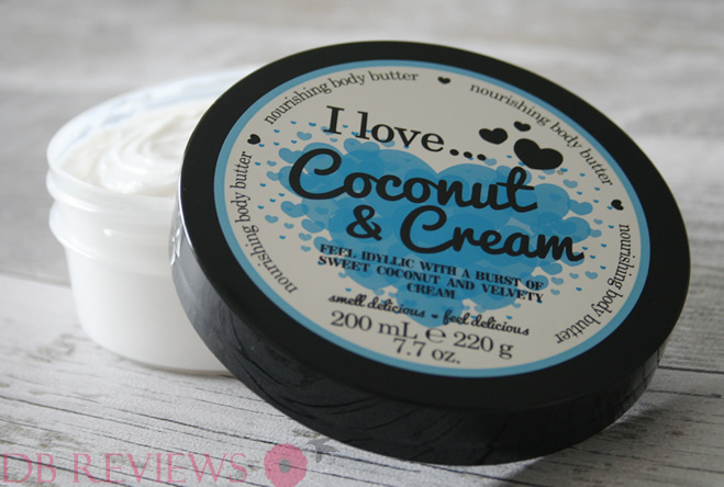 I Love... body butters
