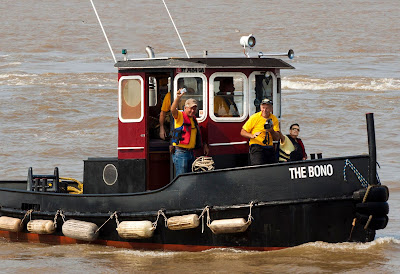 Bono's tugboat, The Bono