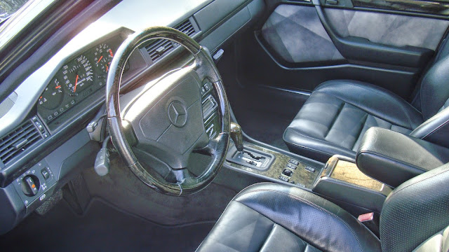 w124 limited interior