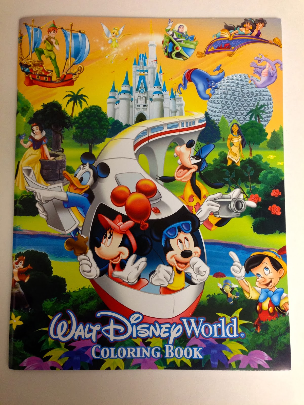 A Walt Disney World Coloring Book