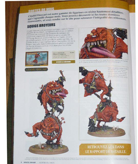 GW Goblin Mangler Squig kit painted photo