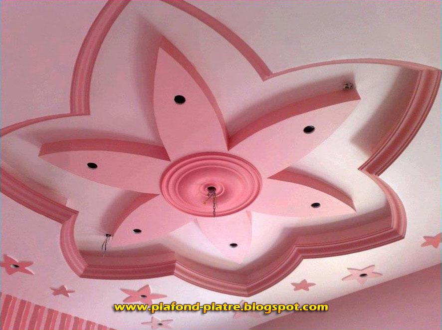 Faux plafond platre 2014 d coration et design for Faux plafond pour salle de bain