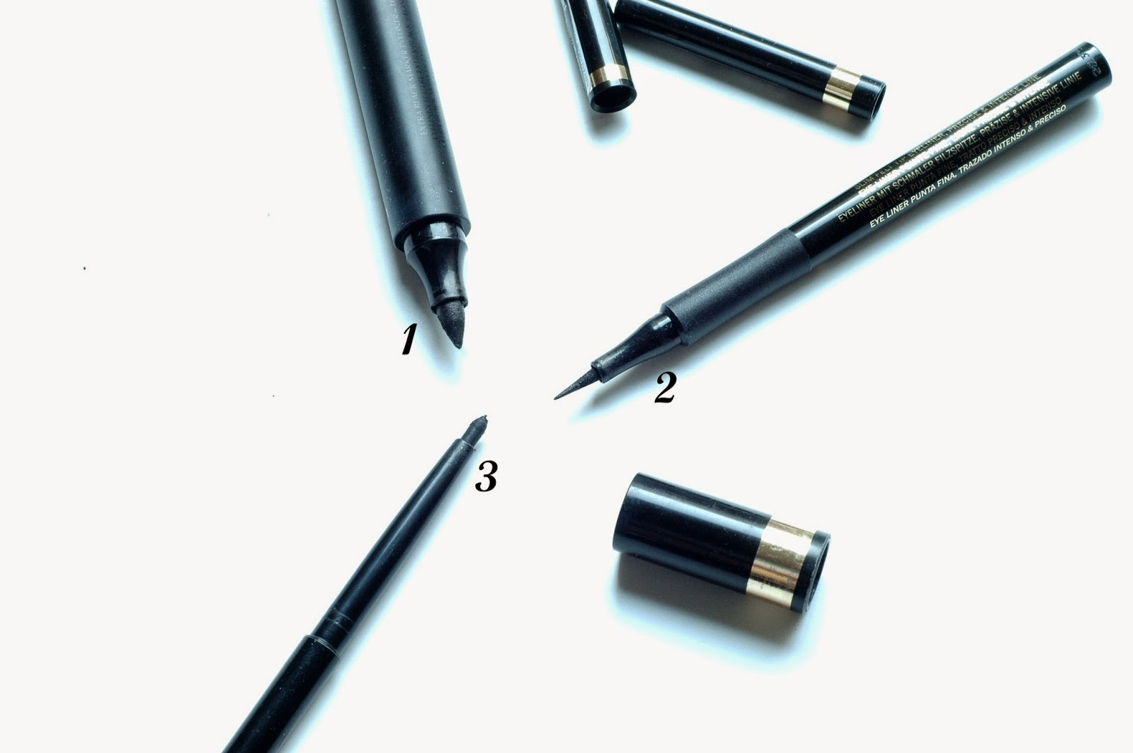 L'Oréal Superliner Perfect Slim, Blackbuster und Gel Liner