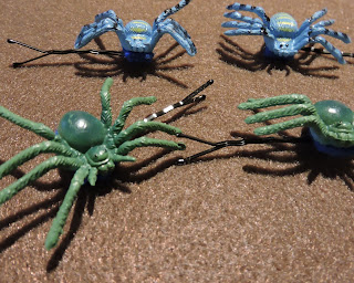 Spider Bobby Pin Tutorial