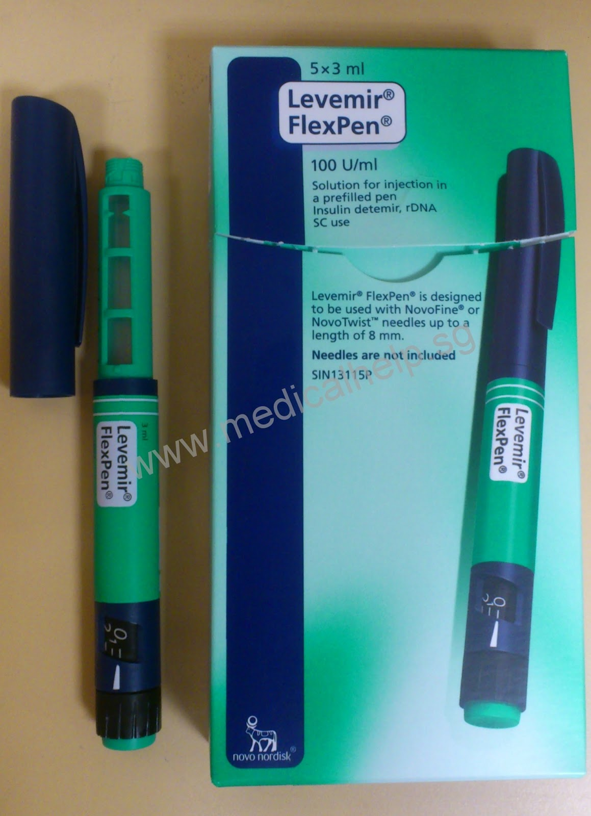 Medical Help: Levemir FlexPen