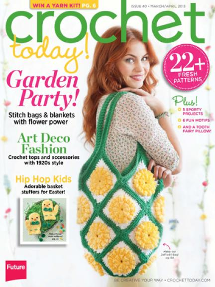 Crochet Today Magazine : Earning-My-Cape: Meet My Sponsor: Crochet Today Magazine