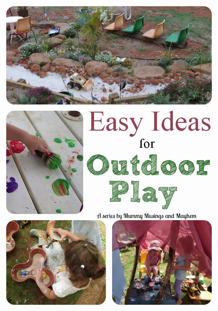 Home Daycare Backyard Ideas :  outdoor inspiration and ideas as I share a few of last weeks home day