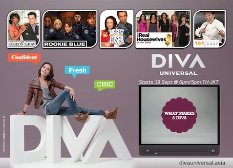 Diva universal goes viral in asia new channel to hit for Diva tv