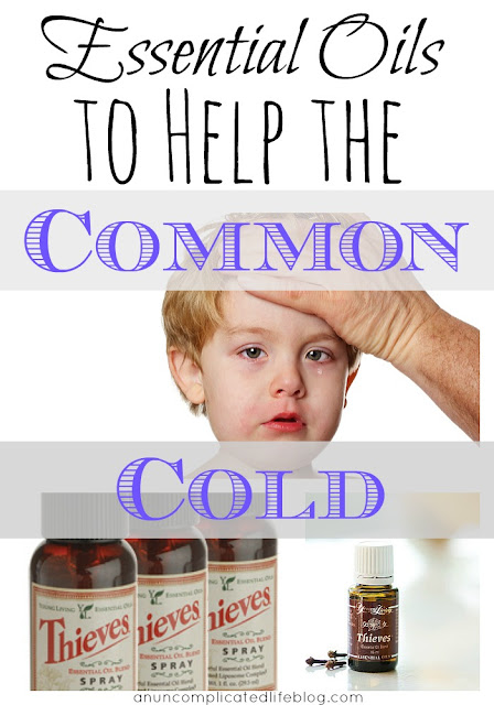 Essential oils that help with colds common in the winter months #essentialoils