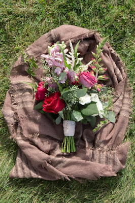 Attendants bouquet - Inn at Buttermilk Falls - Hudson Valley NY - Splendid Stems Floral Designs