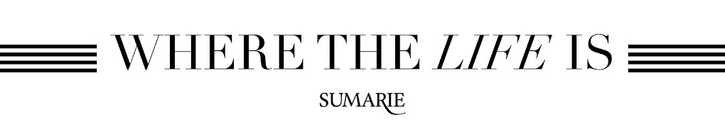 Where The Life Is - Fashion and Lifestyle Blog by SUMARIE Couture Swimwear London