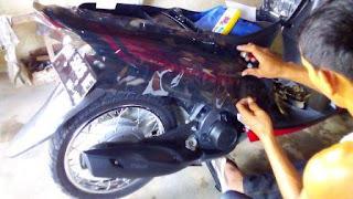 sticker motor tapanuli tengah
