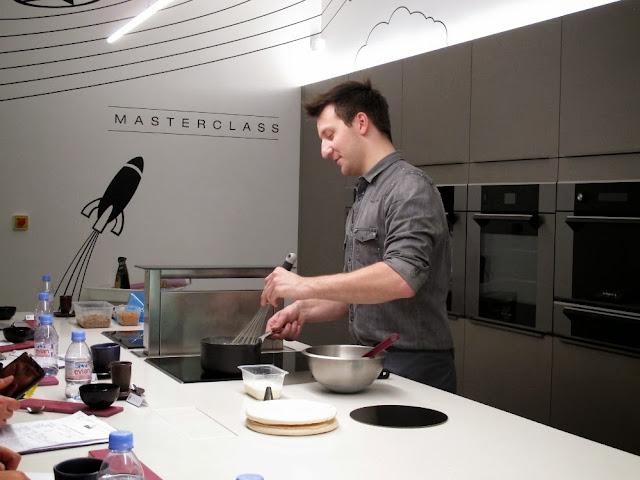 Michalak Masterclass - Cours de pâtisserie - Les merveilleux