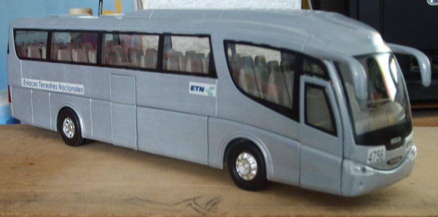 Maqueta terminal de autobuses