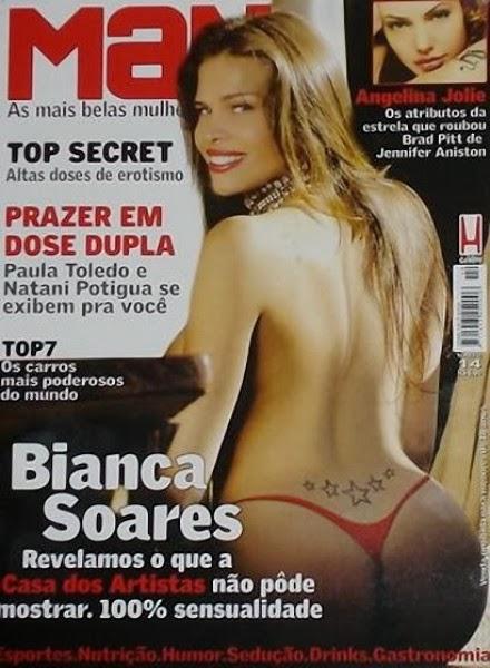 Travesti Bianca Soares da casa dos artistas