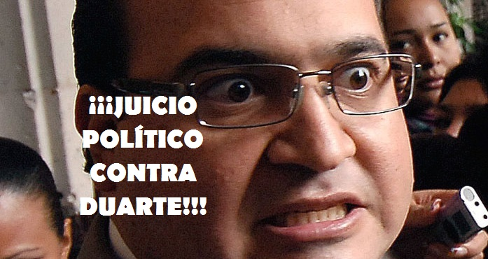 ¡¡¡JUICIO POLÍTICO CONTRA DUARTE!!!