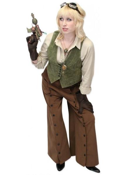 Modern steampunk clothing for women