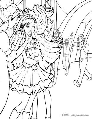 Ken doll vamos colorir a princesa e a pop star parte 2 - Coloriage barbie pop star ...