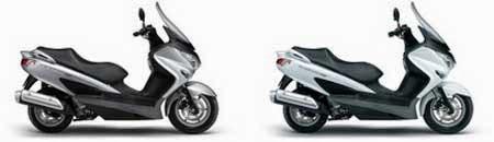Suzuki Burgman 200 Masuk Indonesia