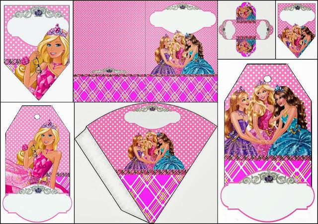 Barbie Princess Charm School: Free Party Printables.