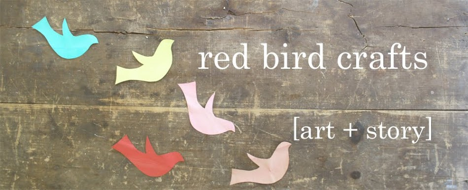red bird crafts