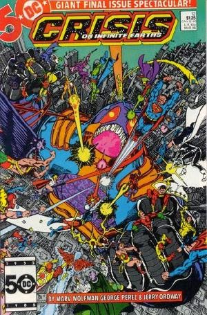 Crisis on Infinite Earths #12 comic image