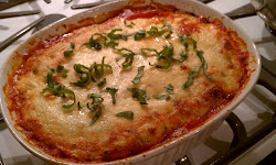 Eggplant Ricotta Bake