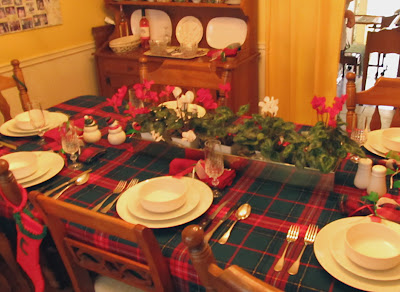 Divasofthedirt, Xmas table 2011