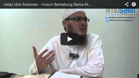Ustaz Idris Sulaiman – Hukum Berkabung Serba Hitam untuk Menzahirkan Kesedihan
