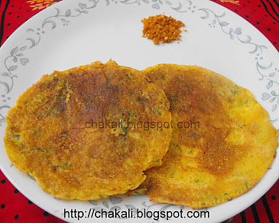 easy breakfast recipes, dhirde, besanche dhirde, ghavan, breakfast