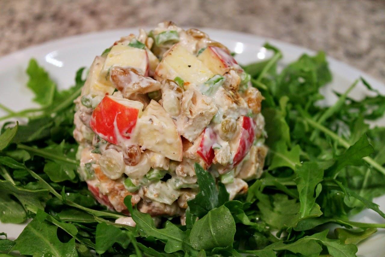 Spring Waldorf Salad