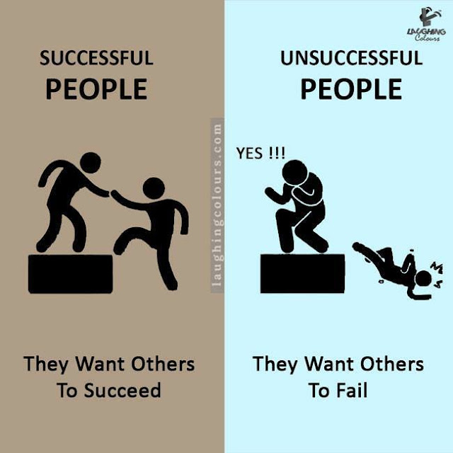 Funny Difference between Successful and unsuccessful people, success people habits