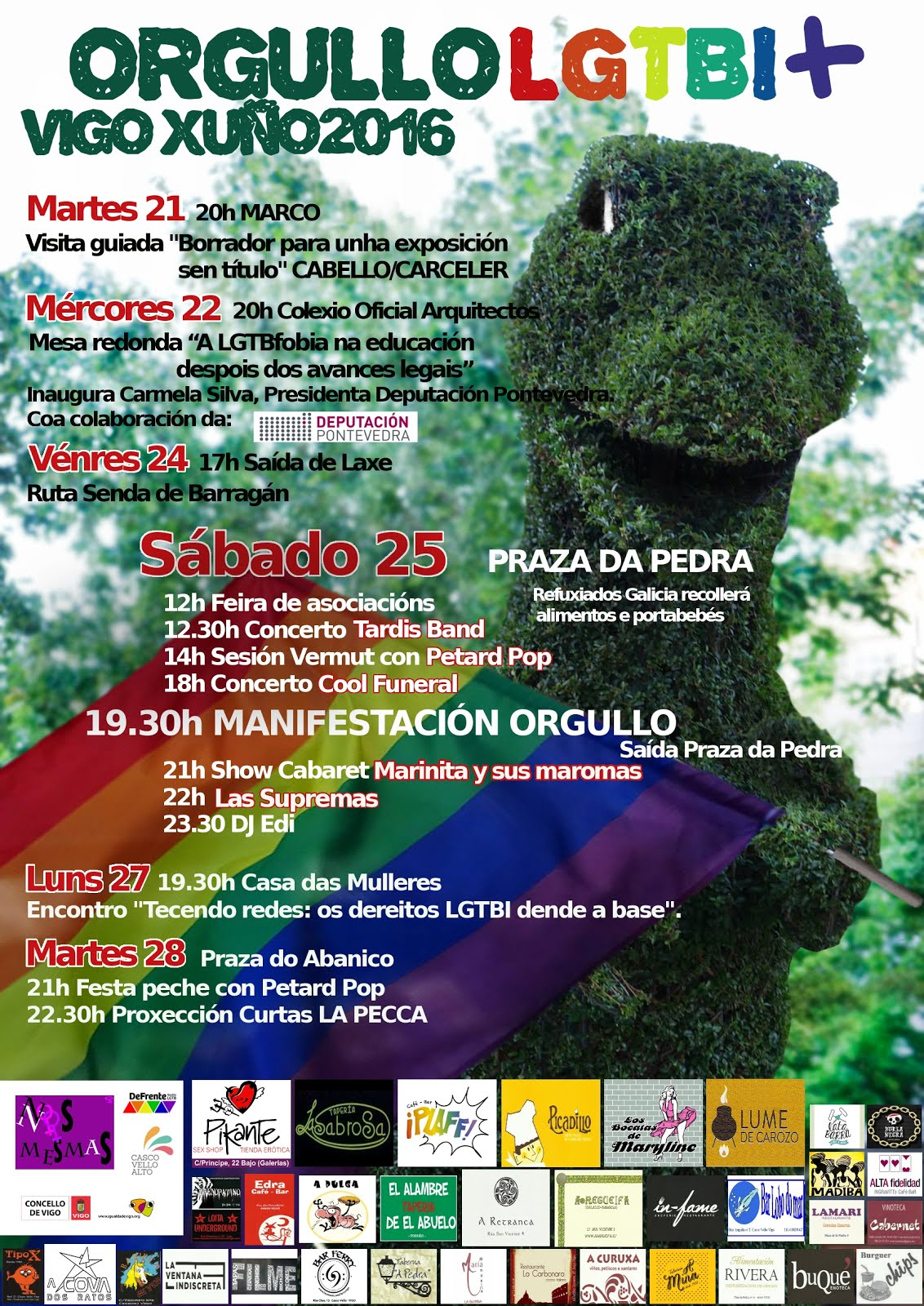Orgullo LGTBI Vigo 2016