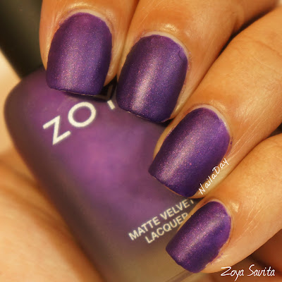 NailaDay: Swatch Zoya Savita