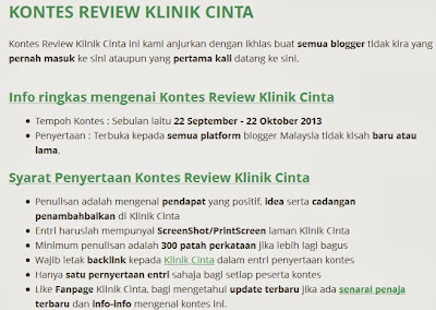 Peraduan, kontes, contest, seo, blog friendly seo
