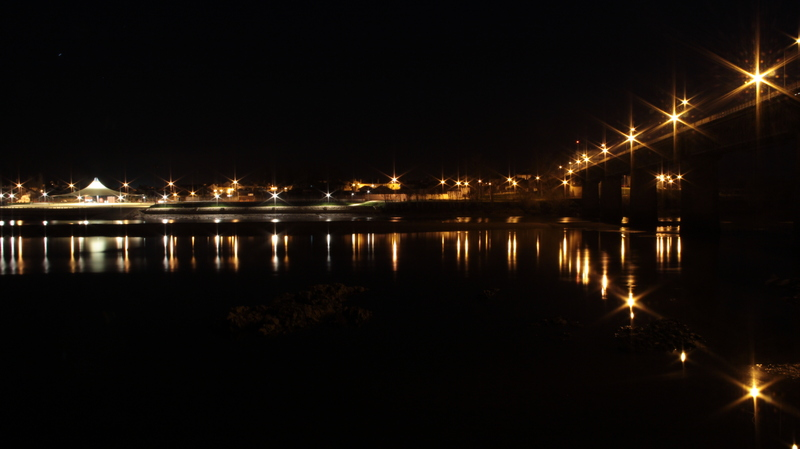 Aquapolis á noite