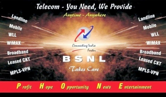 BSNL Formation Day - Broadband Mobile Telecom Services