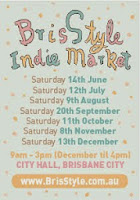 KUBERSTORE will be at the next BrisStyle Indie Market... YAY!